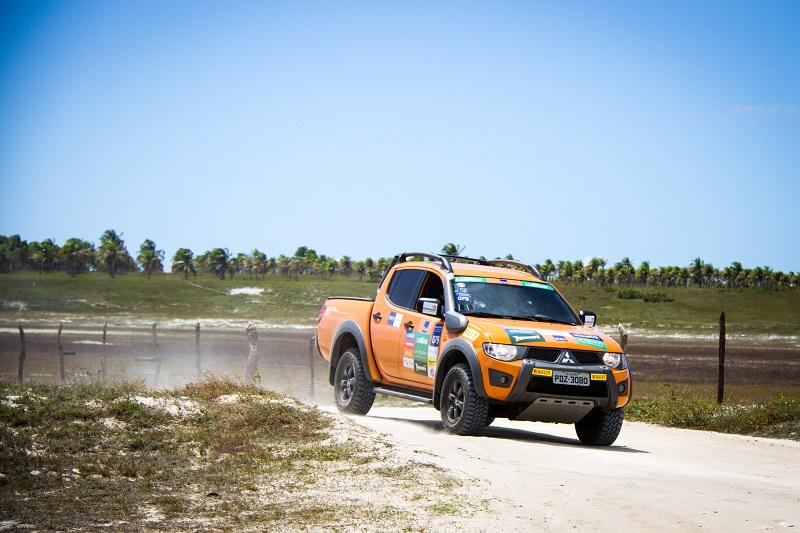 Percurso teve cerca de 200 km Crédito: Adriano Carrapato / Mitsubishi