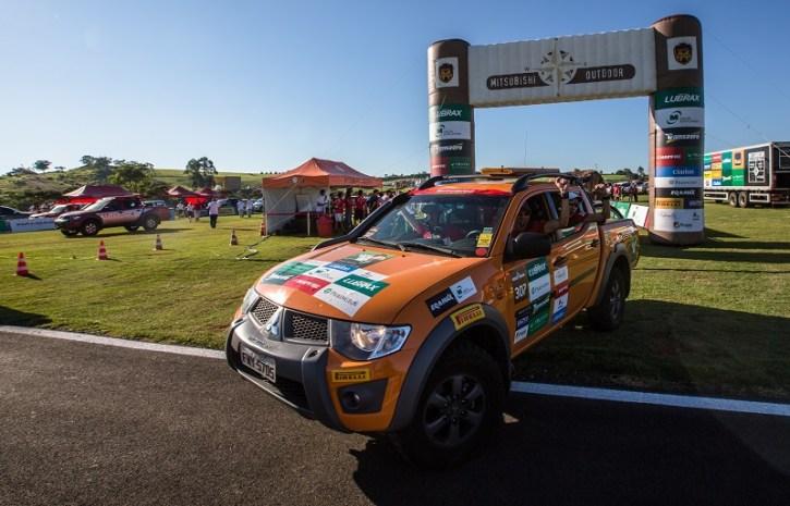 Mitsubishi Outdoor largará do parque Hopi Hari, em Vinhedo (SP), no dia 20/8 Crédito: Cadu Rolim / Mitsubishi