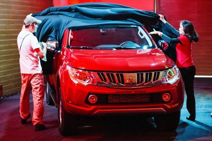 Nação 4x4 conheceu a nova L200 Triton Sport na festa de premiação Crédito: Adriano Carrapato / Mitsubishi