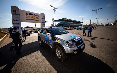 Largada foi no Autódromo de Goiânia. Foto: Tom Papp / Mitsubishi