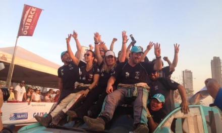 Glauber Fontoura e Josi Koerich conquistam o tricampeonato no Rally dos Sertões