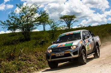 Mitsubishi Motorsports chega a Fortaleza (CE) neste sábado Crédito: Ricardo Leizer / Mitsubishi