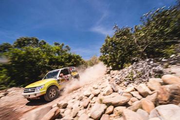 Pai e filho vivenciaram as emoções do roteiro da 24ª edição do Rally dos Sertões (Victor Eleutério/Fotop)