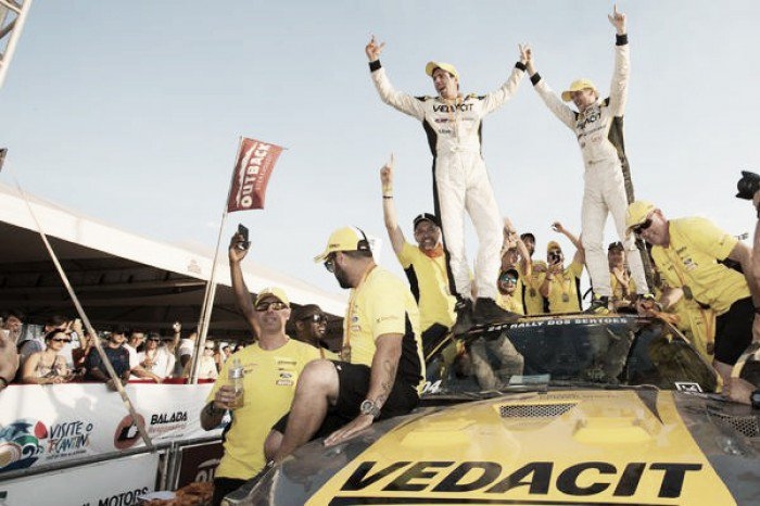 X Rally Team vence o Rally dos Sertões