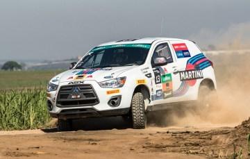 ASX R e ASX RS são locados pela Ralliart Brasil. Foto: Ricardo Leizer/Mitsubishi