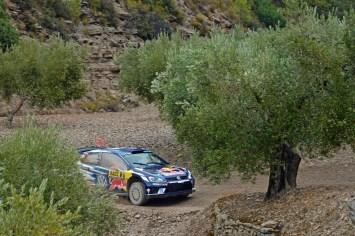 Jari-Matti Latvala (FIN), Miikka Anttila (FIN) Volkswagen Polo R WRC (2016) WRC Rally Catalunya 2016 Photo: Daniel Roeseler