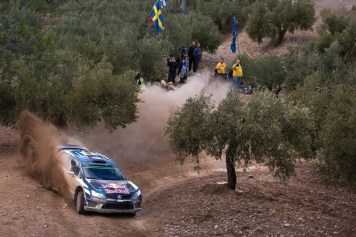 Andreas Mikkelsen (NOR), Anders Jæger (NOR) Volkswagen Polo R WRC (2016) WRC Rally Catalunya 2016 Photo: Helena El Mokni