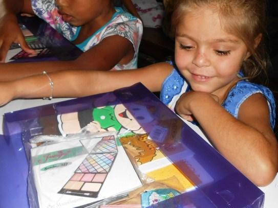 A aluna curtindo o kit (Lucas Carvalho/Photo Action)