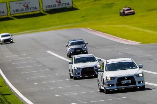 Fun Day reuniu participantes em uma prova de regularidade no Autódromo. Foto: Cadu Rolim/Mitsubishi