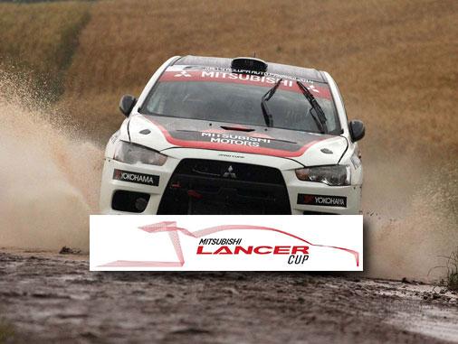 Com Lancer Evolution X, Ulysses Bertholdo é campeão brasileiro de Rally de Velocidade