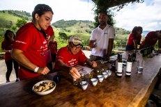 Equipes tiveram uma prova de degustação de azeite. Foto de Tom Papp