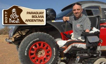 Dakar é superação, ainda mais para quem tem os 4 membros amputados