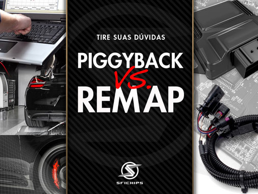 Você sabe a diferença entre PIGGBACK e REMAP?