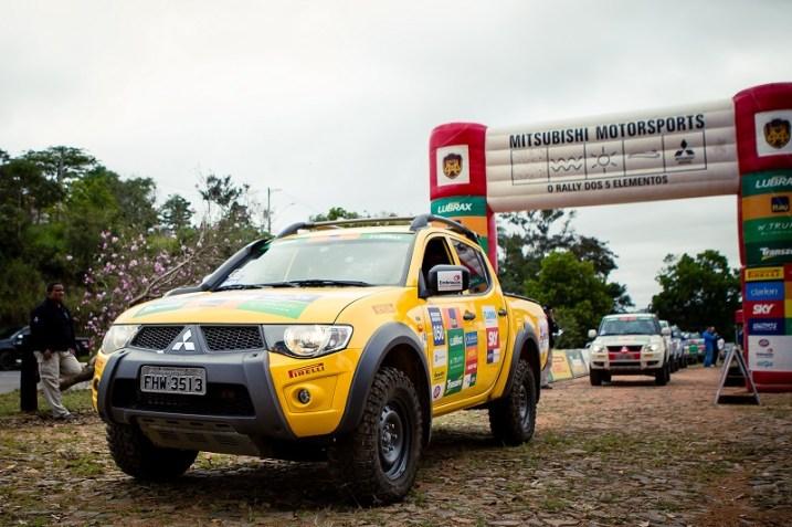 23ª temporada do Mitsubishi Motorsports começa em 1º de abril. Foto: Henrique Ribas/Mitsubishi