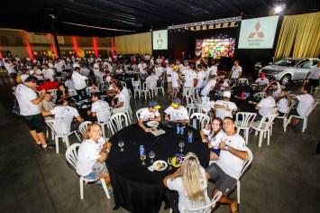 Competidores participam de almoço de confraternização após o rali. Foto: Cadu Rolim/Fotovelocidade