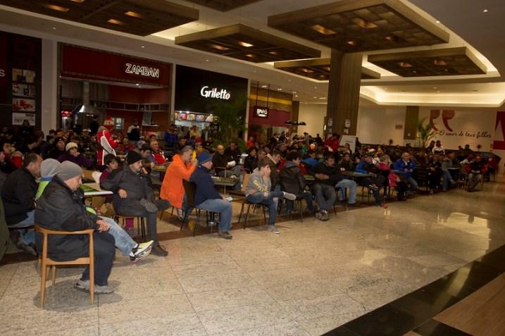 Briefing com os competidores realizado nas dependências do Lages Garden Shopping (Luciano Santos/DFotos)