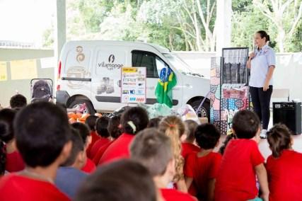 Alunos da Escola de Pedrinhas que participaram da ação em 2016 (Lucas Carvalho/Photo Action)