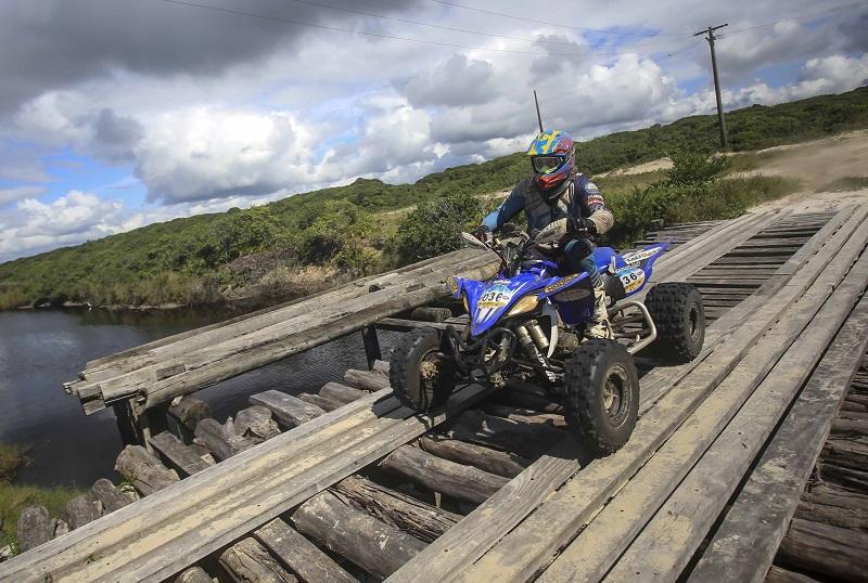 Jérémy Dubois venceu a primeira especial do Rally da Ilha (Luciano Santos/DFotos)