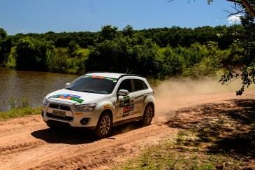 ASX 4x4 também participa da prova. Foto: David dos Santos Jr / Mitsubishi