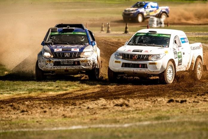 Competição exigiu perícia dos competidores. Foto: Ricardo Leizer / Mitsubishi