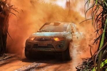 Dupla durante a abertura da temporada, em março, no Rally de Barretos (Haroldo Nogueira)