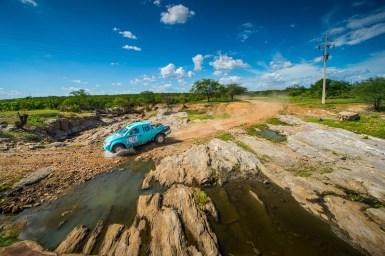 Além de vencer na categoria, a FD Rally Team fez o segundo tempo entre os carros (Gustavo Epifânio/DFotos)