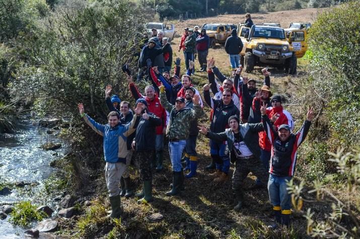 Todos os anos o Transcatarina recebe diversas famílias que participam juntas (Ney Evangelista/DFOTOS)