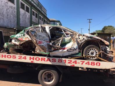 Carro de Paulo Nobre, ex-presidente do Palmeiras. Fotos: Portal Mundo Rally