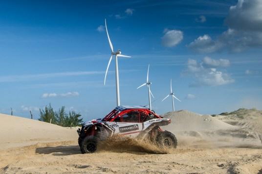 Lucas Barroso/Breno Rezende a bordo do Can-Am Maverick X3 X RS no Rally RN 1500 Crédito: Doni Castilho/DFotos