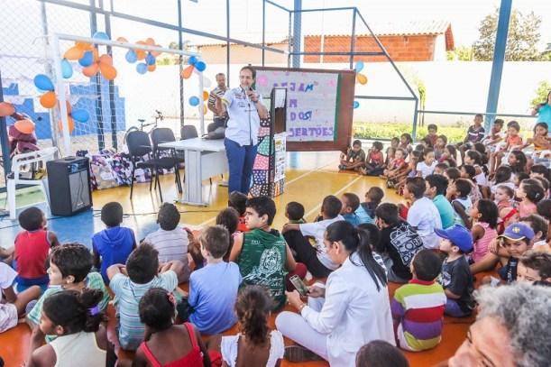 Serão 100 crianças da cidade de São Felix que participarão da ação (Sanderson Pereira/Photography)
