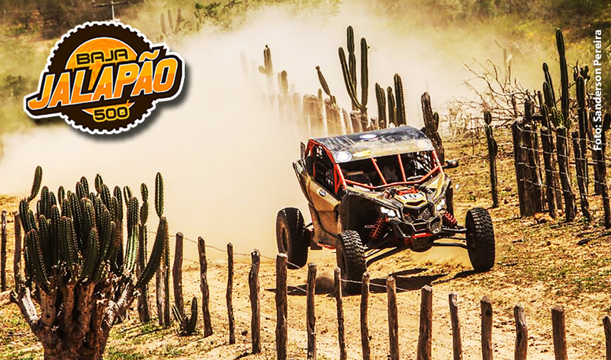 UTVs Can-Am Maverick X3 voam baixo no Rally Baja Jalapão