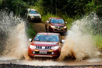 Ralis da Mitsubshi Motors agitaram Ribeirão Preto (SP). Foto de David Santos Jr / Mitsubishi