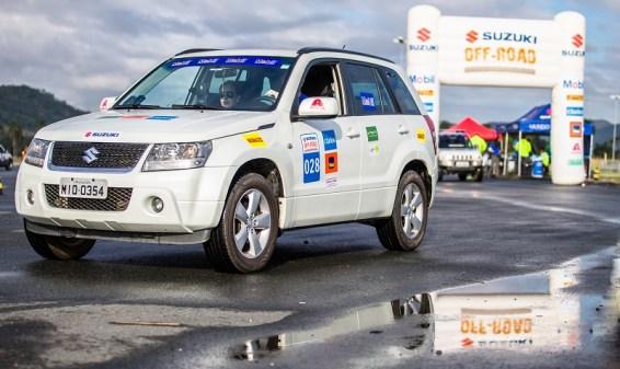 Veículos 4x4 da Suzuki participam da prova (Tom Papp / Suzuki)