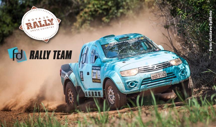 Vitória de Glauber Fontoura e Minae Miyauti na Pró Brasil, no primeiro dia do Rally Rota SC