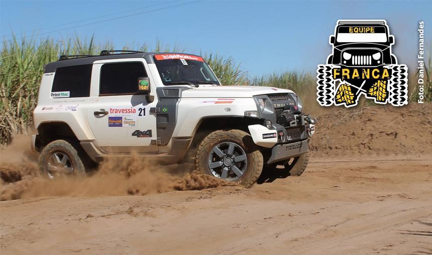 Aconteceu neste domingo o 3º Rally Franca 4×4!