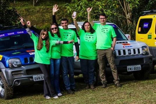 Diversão e amizade nos eventos Suzuki. Foto: Cadu Rolim / Suzuki