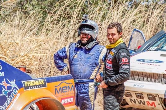 O piloto Rafael Cassol e o navegador Lélio Vieira Carneiro Júnior (Fotop/Divulgação)