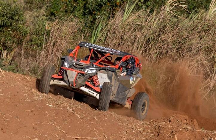 Edinardo Rodrigues Filho, Can Am X3 #139 é o campeão nos UTVs (Luciano Santos/Dfotos)