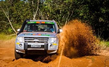Prova leva os participantes a enfrentarem muitos desafios. Foto: Adriano Carrapato / Mitsubishi