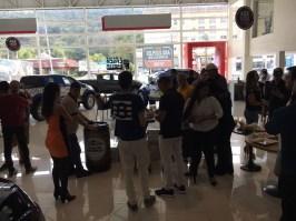O evento aconteceu na Concessionária Mitsubishi Ink em Itaipava (RJ) (Divulgação)