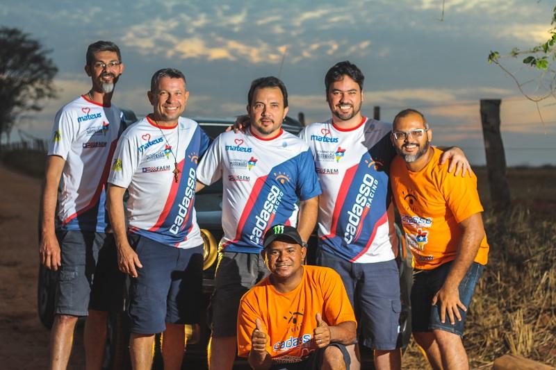 Time maranhense da Cadasso Racing para o Rally dos Sertões (Rallien Martins)