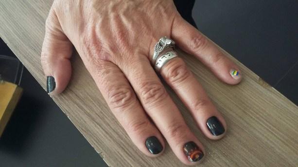 Homenagem ao Sertões nas unhas (Divulgação)