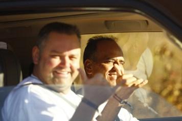 A dupla Renato Martins e Enedir da Silva Júnior fez o terceiro lugar na Máster (Léo Magalhães/Tulipa Rally)