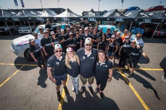 Maior equipe do grid e, ainda, todas as mulheres do Regularidade são do time (Gustavo Epifânio/Fotop)