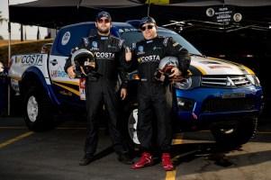 Dupla do carro #353 - Super Production - Wellington Costa e Rafael Costa (Marcelo Machado/Fotop)