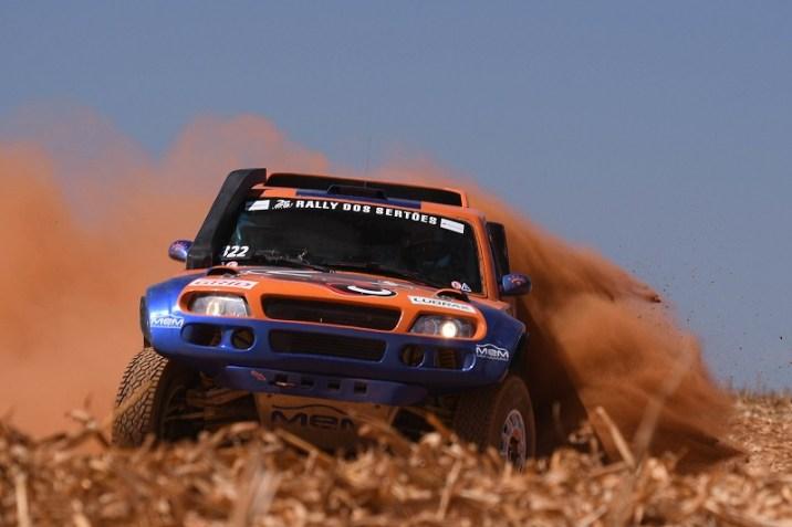 Michel Terpins atual líder do Brasileiro de Rally Cross Country na Protótipos T1 (Victor Eleutério/Fotop)