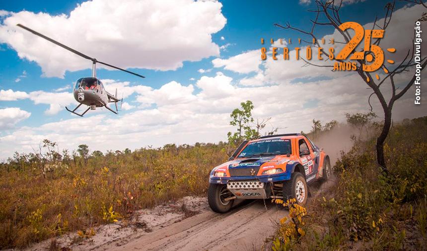 No Rally dos Sertões, competidores de Goiás vão em busca mais um título