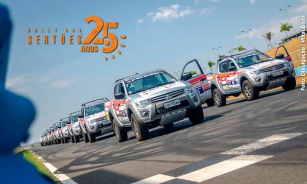 Na edição histórica de 25 anos, Rally dos Sertões contará com 55 picapes Mitsubishi L200 Triton