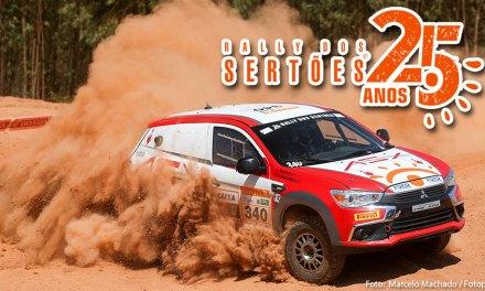 Veículos da Mitsubishi Motors são 70% do grid do Rally dos Sertões 2017