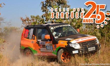 Rally dos Sertões: Renato Martins e Enedir Júnior estreiam em terceiro lugar